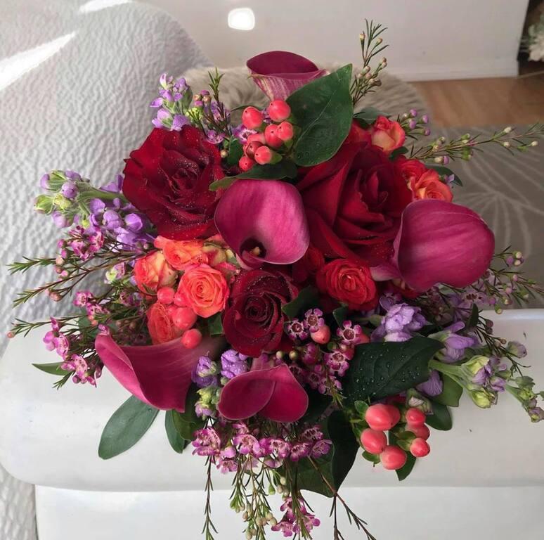 Mobile Wedding Florist YEG