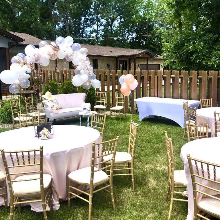 Blush Wedding Rentals